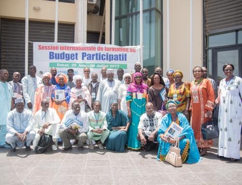 Innovation des pratiques d'administration des collectivités territoriales au Sénégal, 75 communes couvertes par le budget participatif.