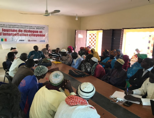 Les Journées de dialogue et d'interpellation citoyenne autour de la gestion publique locale